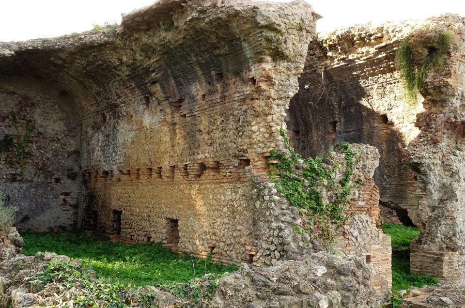 Die Ruinen von Nikopolis