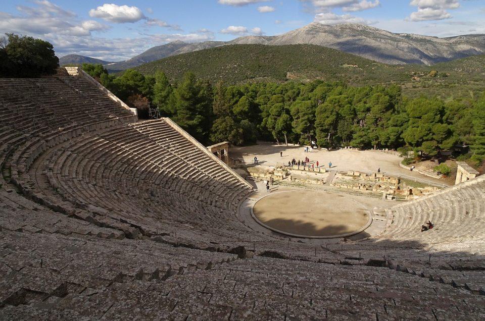Epidauros und Metamorfosi, Weihnachten mit Meeresbrandung...